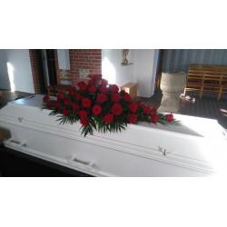 Kistepynt røde roser Nr 14 - 1